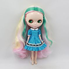 """Takara 12"""" Neo Blythe Doll colorful curly hair  from Factory  #AG10#"""