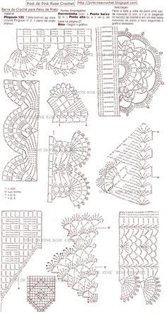 Graficos de bicos de croche