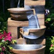Granite, Slate & Sandstone Water Features: from - Sanctuary Garden Services - South Wales - Granite, Slate & Sandstone Water Features: from Water Features & Garden Fountains: from - Stone Water Features, Indoor Water Features, Water Features In The Garden, Small Fountains, Stone Fountains, Garden Fountains, Sphere Water Feature, Backyard Water Feature, Pond Spitters
