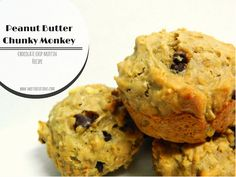 {Sweets Occasions} Peanut Butter Chunky Monkey Muffins Recipe