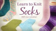Learn to Knit Socks from Annie's Online Classes (other classes from crochet, quilting, card making, and sewing)