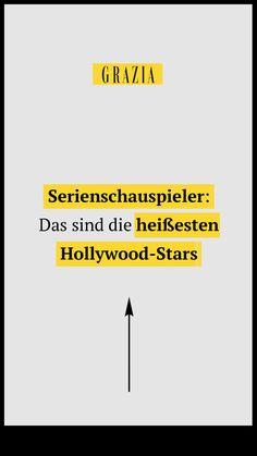 Wir haben die ultimative Liste erstellt mit den heißesten, den beliebtesten und den besten Serienschauspieler Hollywoods... #grazia #grazia_magazin #hollywood #serienstars #serien