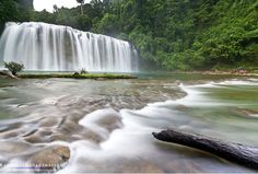 """It is called """"Little Niagara Falls"""" Tinuy-An Falls #Philippines"""