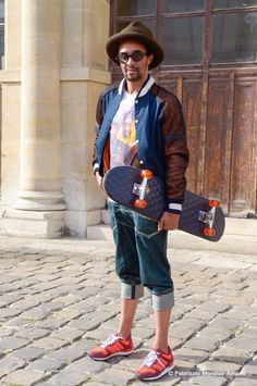 Longboard  Casely-Hayford y H by Harris StreetStyle pic Fabrizzio Morales-Anguo