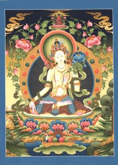 "There are 21 different forms of Tara, the most popular among them being the White and the Green Tara. She is the embodiment of motherly love and eventually came to be known as the ""Mother of all Buddhas""; as such, she is worshipped in a majority of Buddhist communities throughout the world."