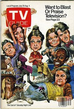 TV GUIDE ☆☆☆ Live from New York,  it's SATURDAY NIGHT!!!