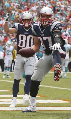 Rob Gronkowski, the big Pole!  Will go down as the best Polish TE ever, let alone best TE EVER!