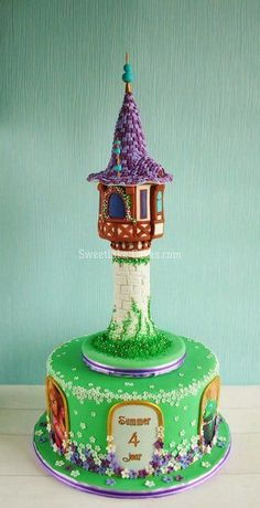 Tangled cake - Cake by Tamara - CakesDecor
