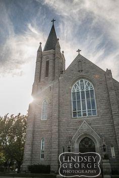 Traditional Catholic Church Wedding Ceremony Omaha Nebraska Click To View  Full Gallery The Omar Bakery Building