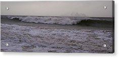 Winter Wave Acrylic Print by Julia Woodman