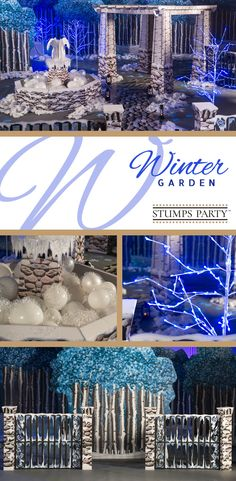 Create a gorgeous background for your upcoming celebration using our Winter Garden theme kit. Complement your event with personalized winter favors, invitations, and more! Shop all of our winter party supplies to make your event complete!