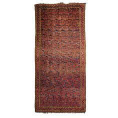 Wannenes Art Auctions  BESHIR CARPET, TURMENISTAN, 1870 CIRCA cm 232X496