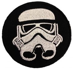 Star Wars Stormtrooper Sandtrooper parche con logo de Star Wars fans '7.4 x 7.4 cm' - Parche Parches Termoadhesivos Parche Bordado Parches Bordados Parches Para La Ropa Parches La Ropa Termoadhesivo Apliques Iron on Patch Iron-On Apliques