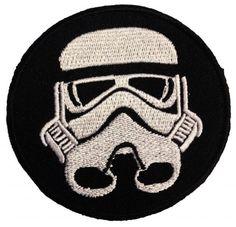 Star Wars Stormtrooper Sandtrooper parche con logo de Star Wars fans '7.4 x 7.4 cm' - Parche Parches Termoadhesivos Parche Bordado Parches Bordados Parches Para La Ropa Parches La Ropa Termoadhesivo Apliques Iron on Patch Iron-On Apliques