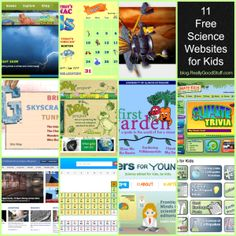 11 Free Science Websites for Kids