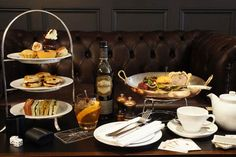 Gentlemen's Afternoon Tea at the Mandeville Hotel - with whisky cocktails, mini…