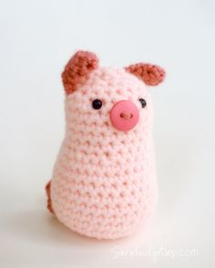 What's New: Crochet Bunnies (and a pig and duck, too!) | Sarahndipities