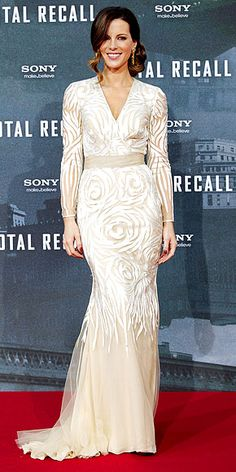 Kate Beckinsale in Naem Khan - Total Recall Premiere