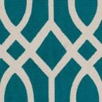 Safavieh Cedar Brook Teal/Ivory 4 ft. x 6 ft. Area Rug CDR141A-4 at The Home Depot - Mobile