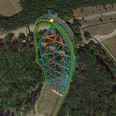 Zumanjaro Drop Of Doom The Worlds Tallest Drop Ride Six Flags Great