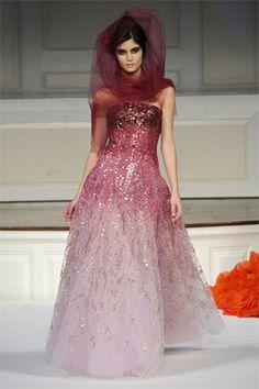 Oscar de la Renta barbie dress
