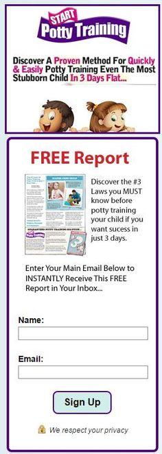 Free Potty Training In 3 Days Video Start Potty Training  $100 - training report