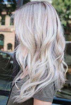 59 Icy Platinum Blonde Hair Ideas: Platinum Hair Color Shades to Inspire Silver Platinum Hair, Platinum Blonde Hair Color, Thin Blonde Hair, Icy Blonde, White Blonde, Icy Hair, Blonde Hair Colour Shades, Low Lights Hair, Hair Fixing