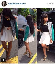 angela simmons style pinterest | Angela Simmons, love her style
