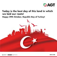 Happy 29th October, Republic Day of Turkey!