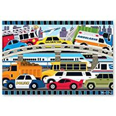 Melissa Doug Traffic Jigsaw Puzzle. * Learn more by visiting the image link. (This is an affiliate link) #BabyToys