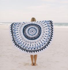 'The Marjorelle' Roundie Towel by The Beach People