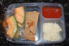 Love these school lunch ideas. Especially this homemade pizza lunchable one!