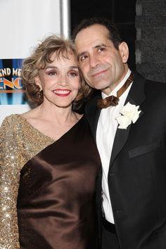 Beautiful couple. Tony Shaloub & wife