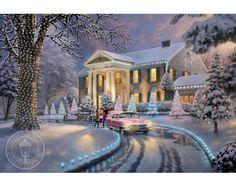 Graceland by Thomas Kinkade
