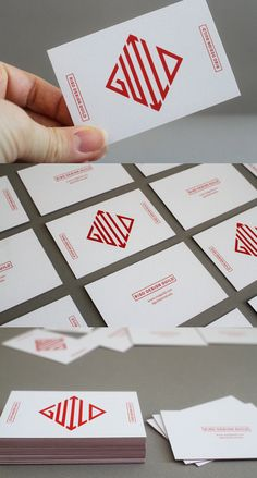 Creative Business, Card, Risd, Design, and Guild image ideas & inspiration on Designspiration Graphic Design Branding, Corporate Design, Identity Design, Typography Design, Logo Design, Minimal Business Card, Business Card Design, Creative Business, Web Design