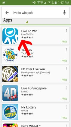 How to review the Live to Win App on an iPhone 2