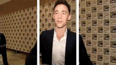 Come on, let Tom Hiddleston give you a hug! <3