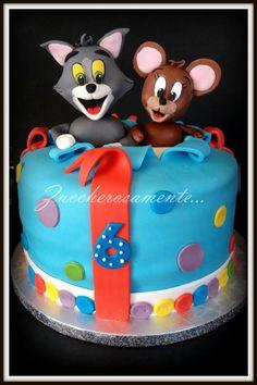 Tom & Jerry cake - Cake by Silvia Tartari