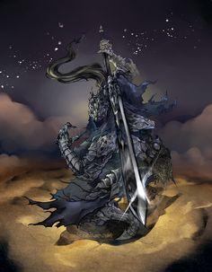 Dark Souls: Artorias by ~karniz on deviantART