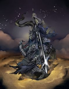 Dark Souls: Artorias by ~karniz on deviantART