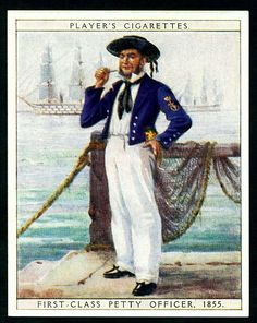 Cigarette Card - First Class Petty Officer | Flickr - Photo Sharing!