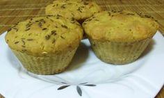 Pikantní sýrovo-jáhlové muffiny