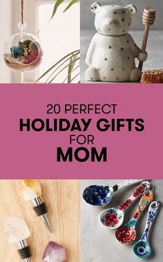 These presents are so cute, you might end up raiding Mom's closet after the holidays.