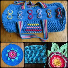 Free Crochet Round Bag Pattern