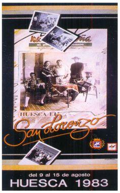Cartel Fiestas de San Lorenzo 1983