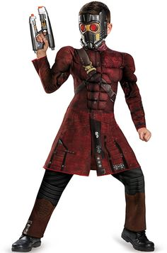 starlord halloween costume kids | Star-Lord Muscle Child Costume