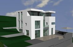 Wohnhaus mit Hanglage in Bielefeld . projekte . AXEL ZUMBANSEN