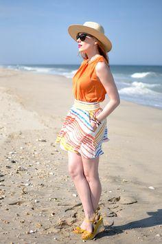lovely beach outfit via eat.sleep.wear