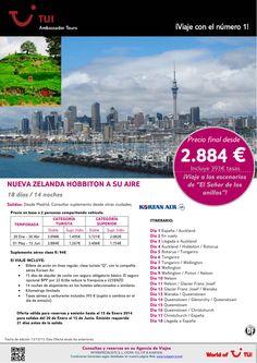 Nueva Zelanda Hobbiton a su aire. Precio final desde 2.884€ ultimo minuto - http://zocotours.com/nueva-zelanda-hobbiton-a-su-aire-precio-final-desde-2-884e-ultimo-minuto/