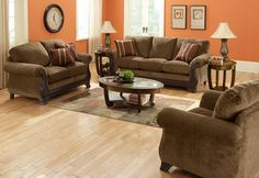 Entrancing Furniture Arrangement In Family Room With